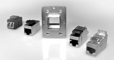 Conectores RJ45 industriales rugerizados