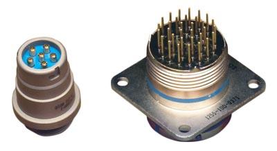 Conectores circulares filtrados