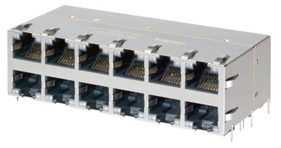 Conectores magnéticos RJ45