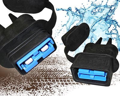 Capuchas de protección para conectores