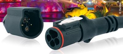 Conectores de potencia y de control