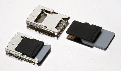 Conectores combinados microSD/SIM