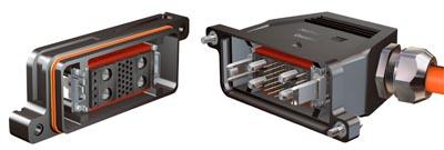 Carcasa IP68 para conectores modulares