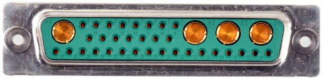 Conectores modulares D-Sub con IP69