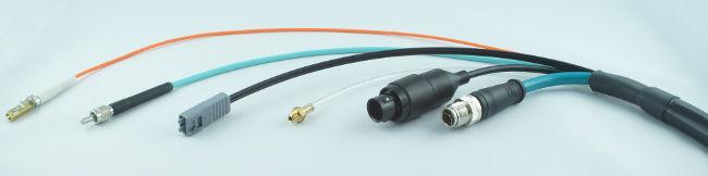 Arneses y conjuntos de cables POF y HPCF