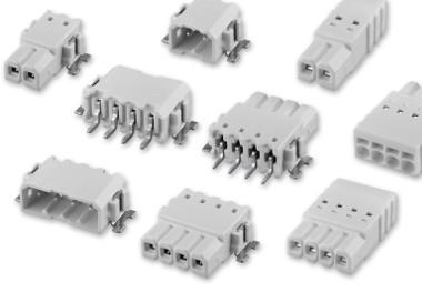 Conectores para LED con aislante blanco