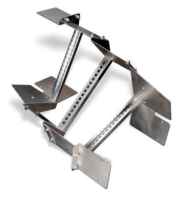 Sujetacables para aplicaciones verticales y horizontales