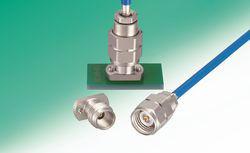 Conector coaxial de compresión sin soldadura
