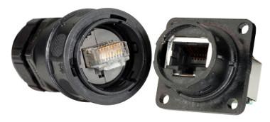 Conectores Ethernet Cat 6 para entornos adversos