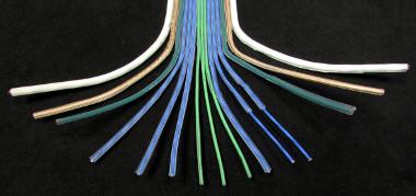 Cables planos y flexibles para fabricación