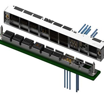 Sistema de conexión modular rugerizado
