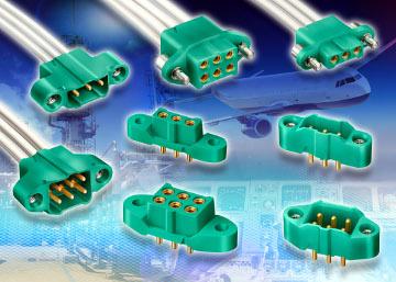 Conectores de alta fiabilidad Mil-Aero