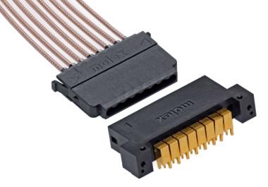 Conectores cable a placa coaxiales