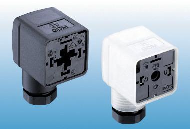 Conectores de válvula para redes de datos