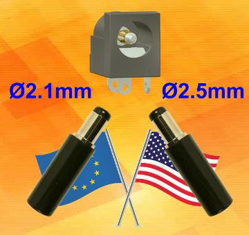 Toma de corriente doble Europa - USA