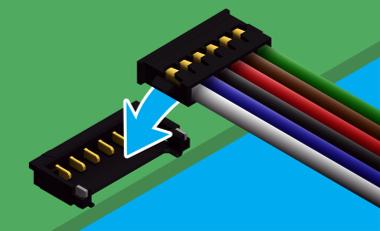 Sistema de conexión a placa con cable de 1,2 mm