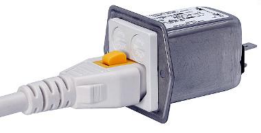 Módulo para entrada de alimentación IP54