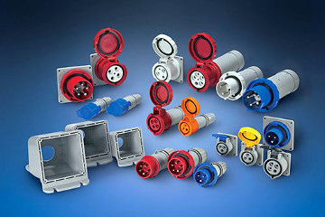 Conectores de potencia industriales