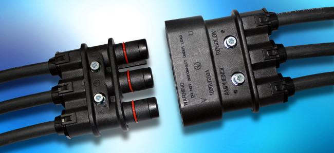 Conector de potencia de circuito primario