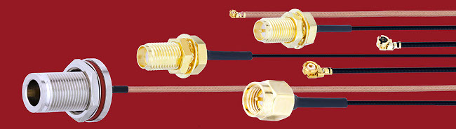 Ensamblajes de cables coaxiales miniaturizados