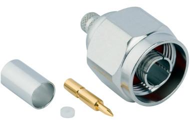 Conectores para uso con cables de baja pérdida