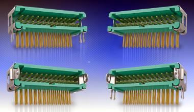 Conectores horizontales cable a placa