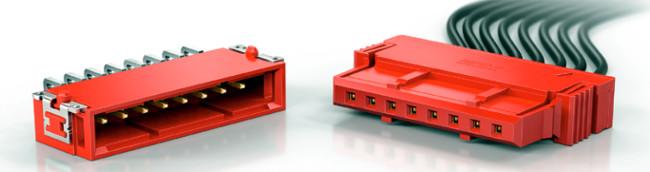 Conectores de cable a placa en versión dual-row