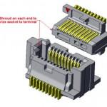 La serie Samtec SS4/ST4 ha sido diseñada para señales con velocidades serie por encima de 28 Gbps, como 100 GbE.