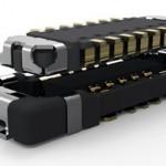 El conector de tarjeta a flexible de TE Connectivity incluye un apantallamiento EMI metálico con un perfil de menos de un milímetro.