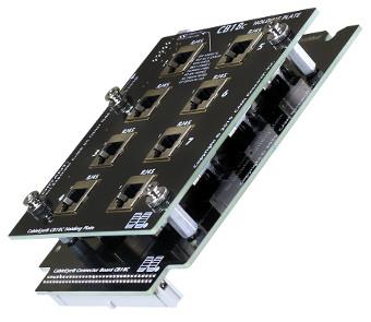 Placa de adaptadores RJ45 apantallados
