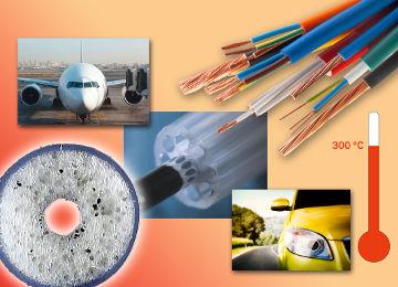 Productos fluoroplásticos para fabricar cables