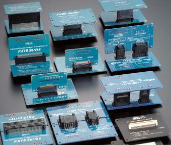Conector BTB con contactos flotantes