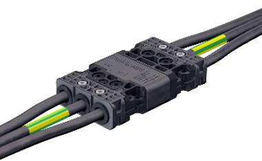 conector de montaje a mano