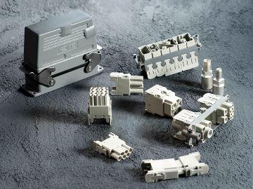 Conectores Heavy Duty rectangulares