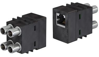 Conectores modulares combinados