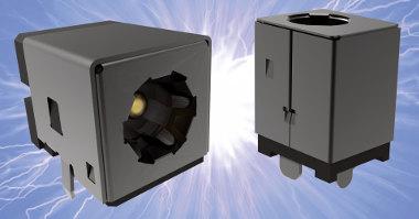 conectores PCB con orientación vertical