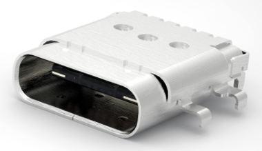 conector USB tipo C para PCB