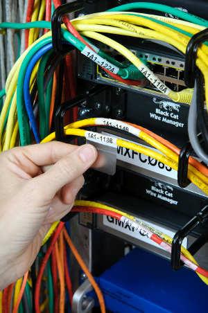 Identificación de cables y componentes