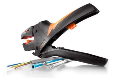 Herramienta para pelado de cable