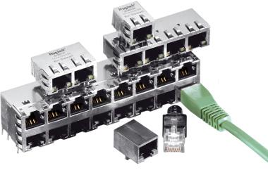 módulos integrados RJ45