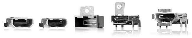 Conectores HDMI tipo D y E