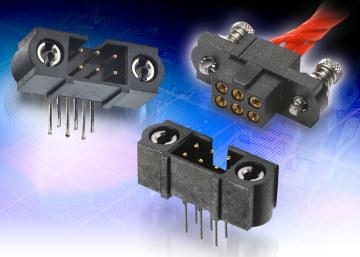 Conectores con fijaciones atornilladas