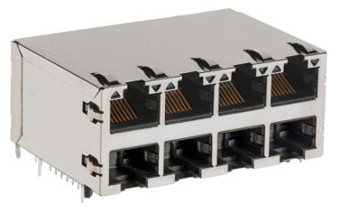 Conectores modulares multipuerto