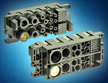 conectores de potencia modulares