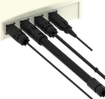 Mini conectores rugerizados