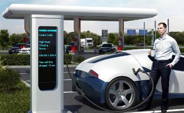 Cable de carga rápida para vehículos eléctricos