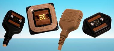 Conector para wearables militares