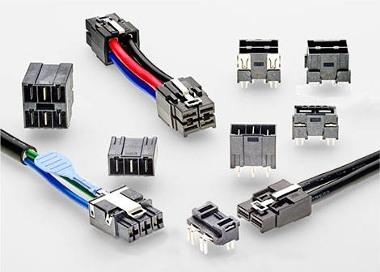 Mini conectores de potencia