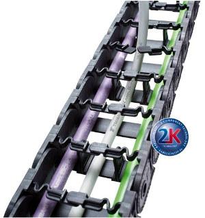 Sistema porta cables flexibles