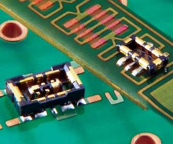 Conector de tarjeta a FPC híbrido en miniatura